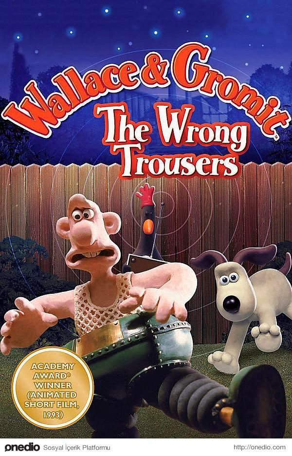 Wallace And Gromit İn The Wrong Trousers (1993)